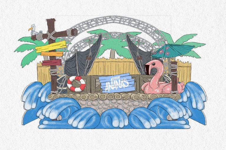 Villa Ananas Stage