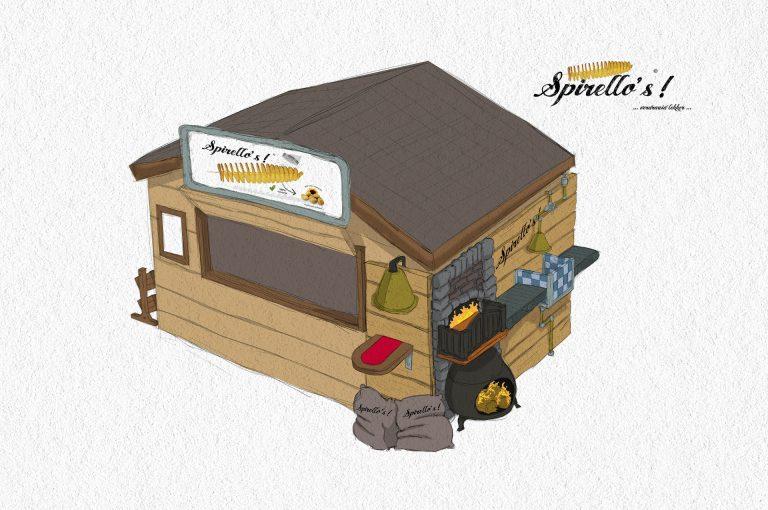 Spirello hut